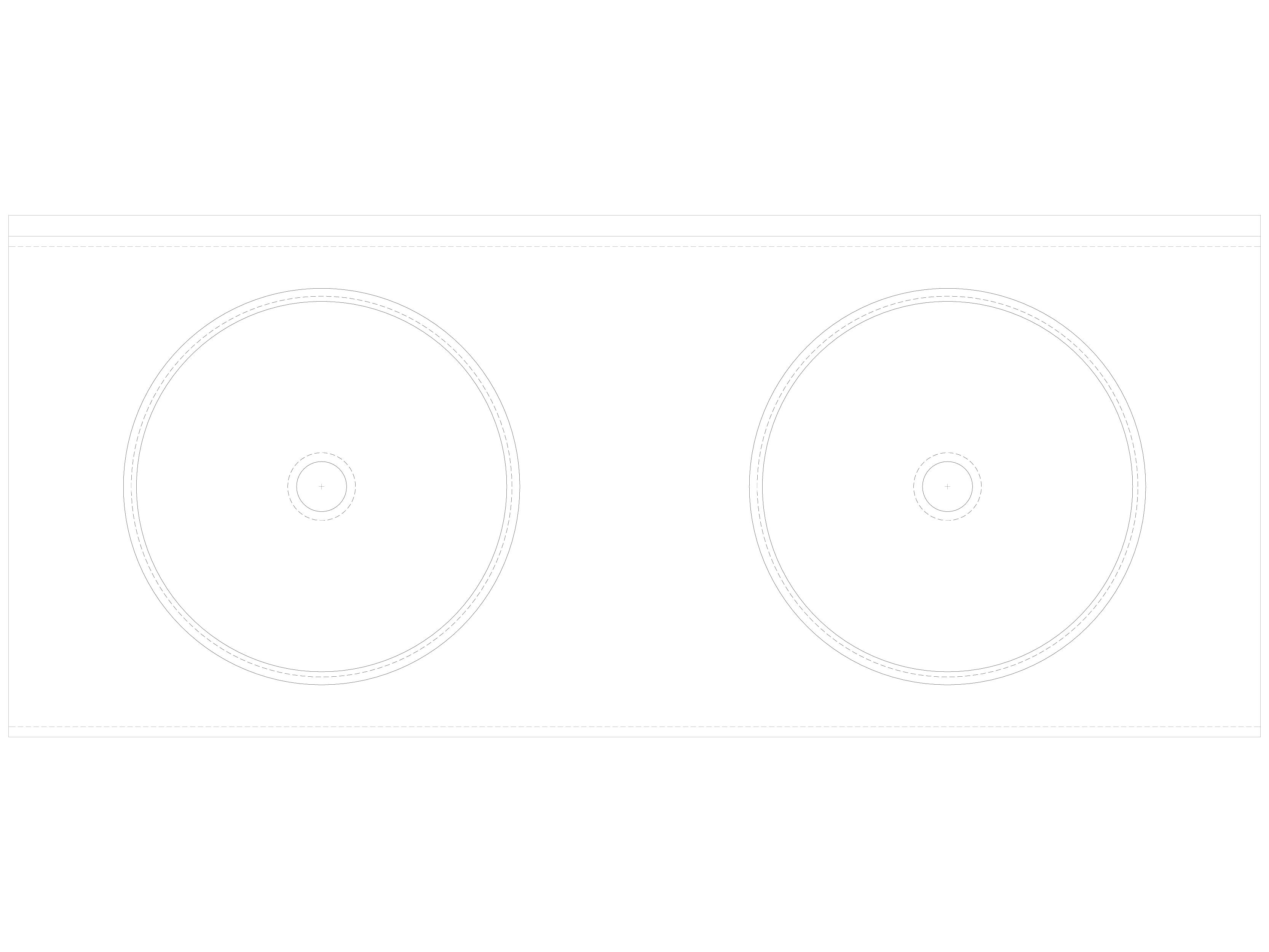 Pagina 1 - CAD-DWG Lavoar dublu din inox, fara gauri pentru baterii SANELA Detaliu de produs SLUN 19...