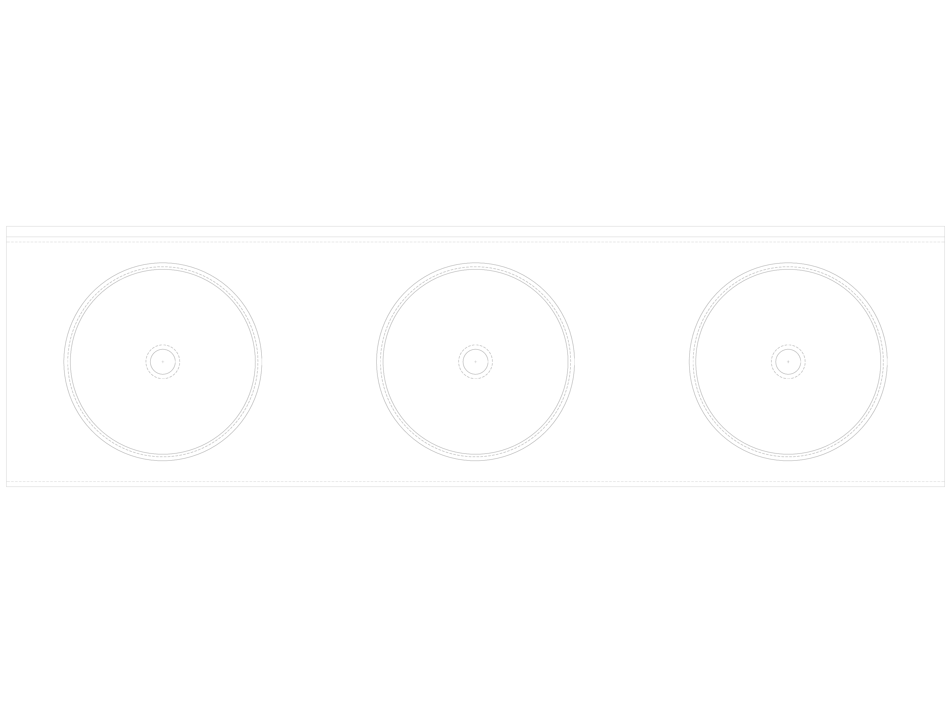 Pagina 1 - CAD-DWG Lavoar triplu din inox, fara gauri pentru baterii SANELA Detaliu de produs SLUN...