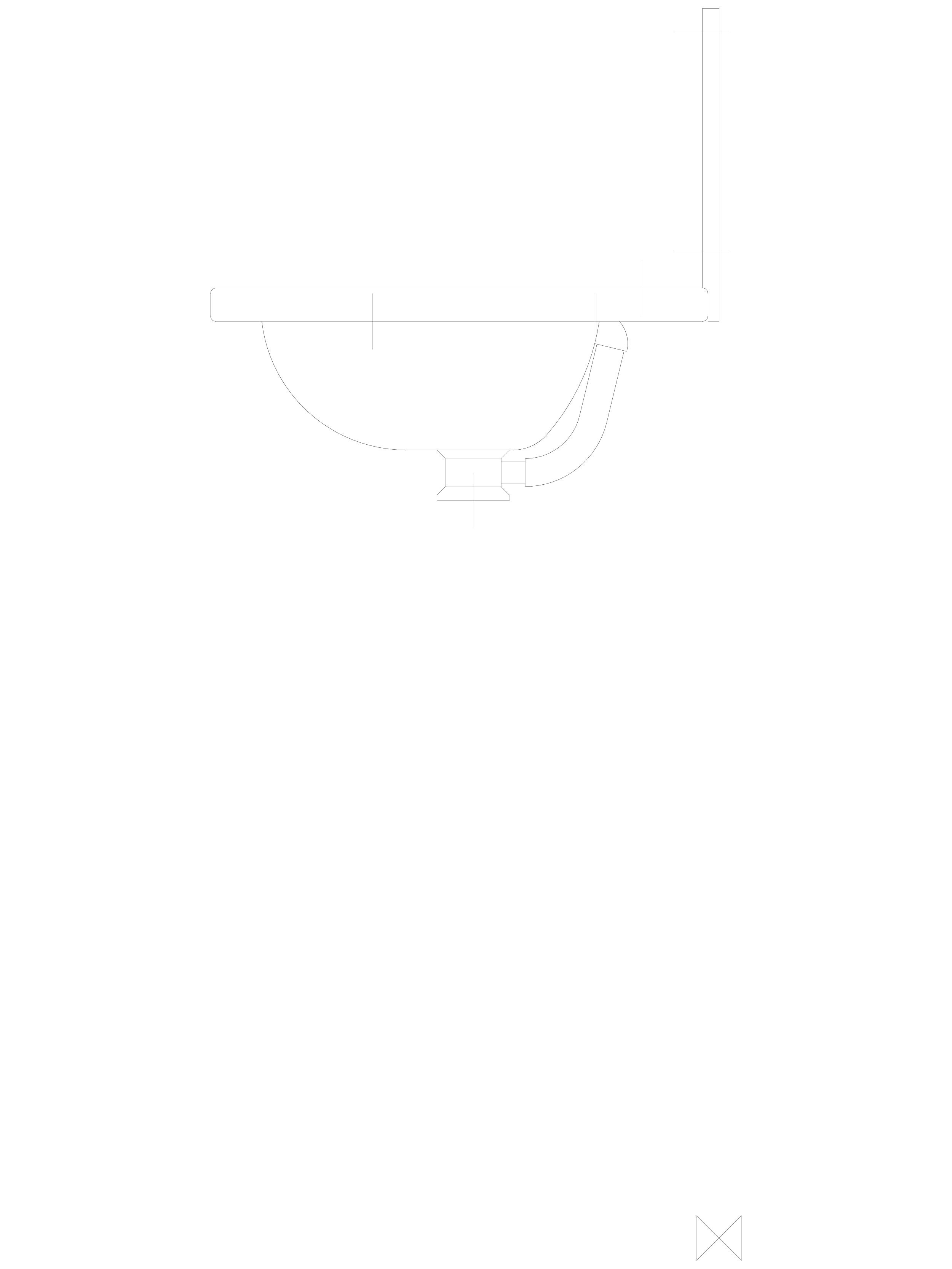 Pagina 1 - CAD-DWG Lavoare din otel inox cu gaura pentru baterie si spatar - z boku SANELA Detaliu...