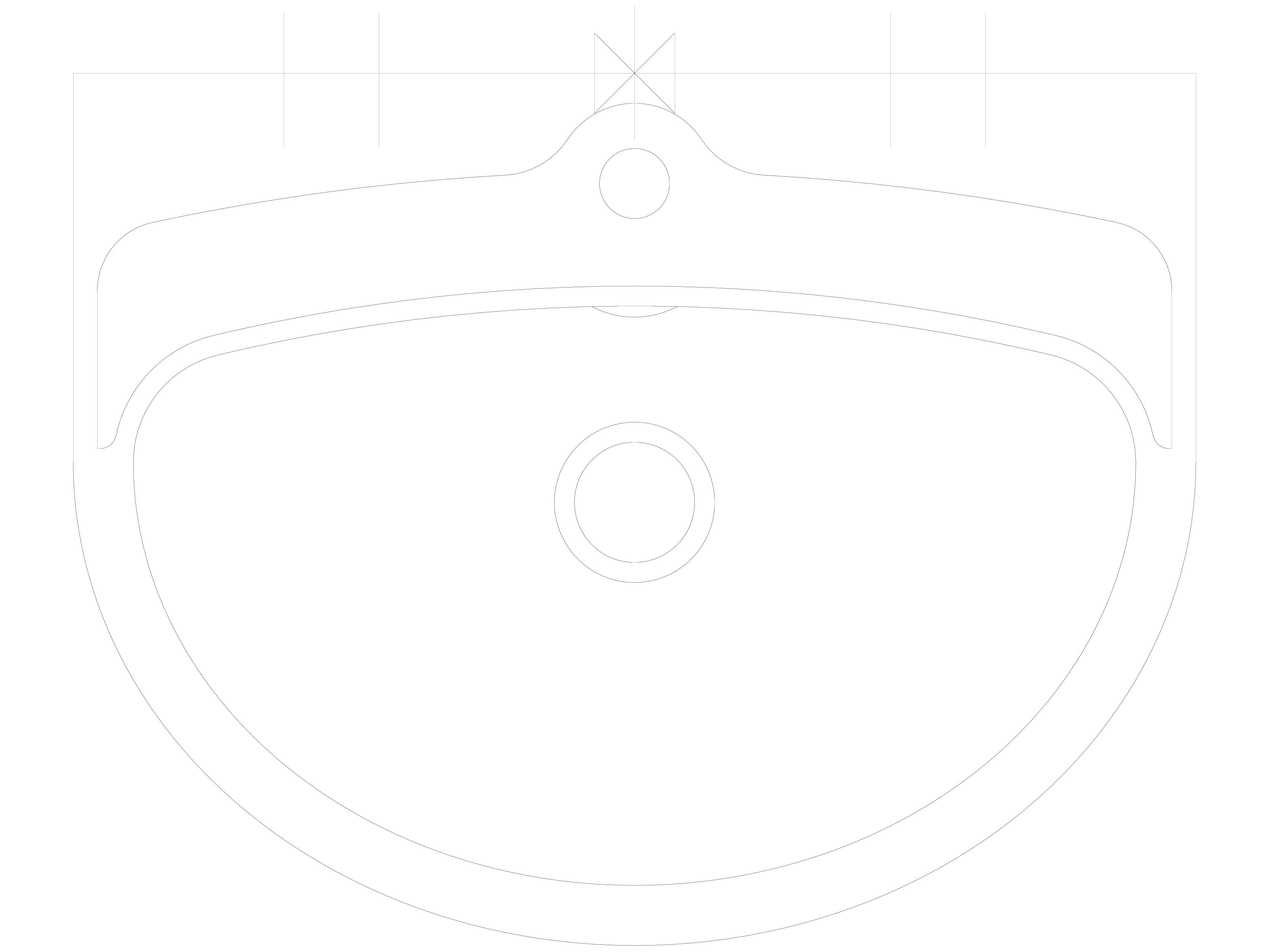 Pagina 1 - CAD-DWG Lavoare din otel inox cu gaura pentru baterie SANELA Detaliu de produs SLUN 01