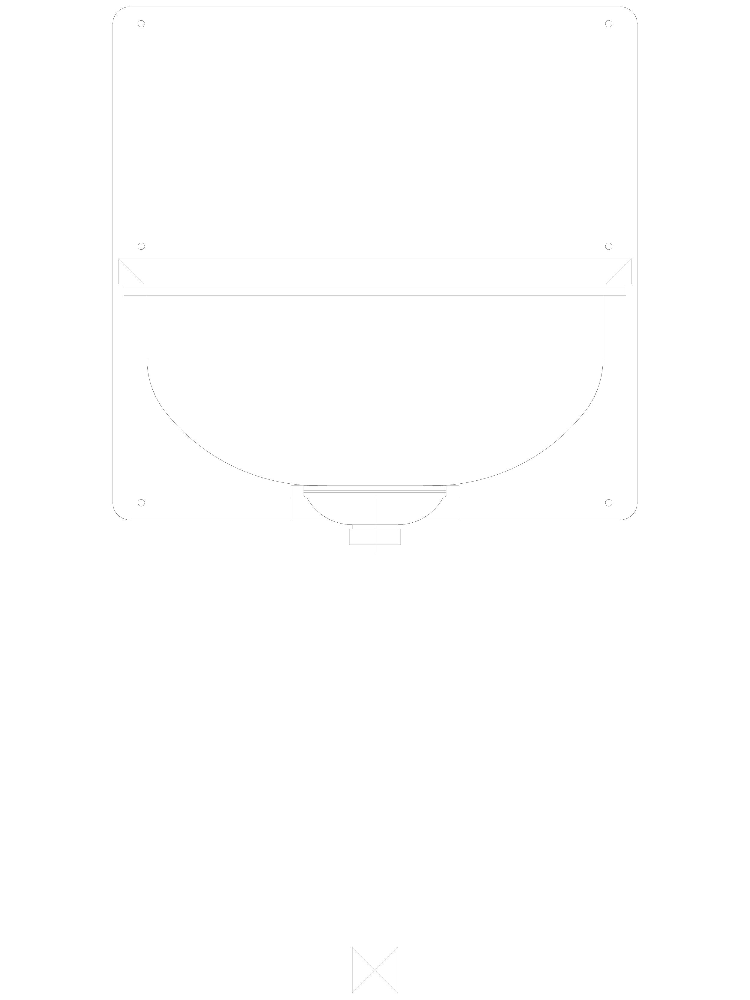 Pagina 1 - CAD-DWG Spalator din inox de perete cu spatar si gratar - ze pedu SANELA Detaliu de...