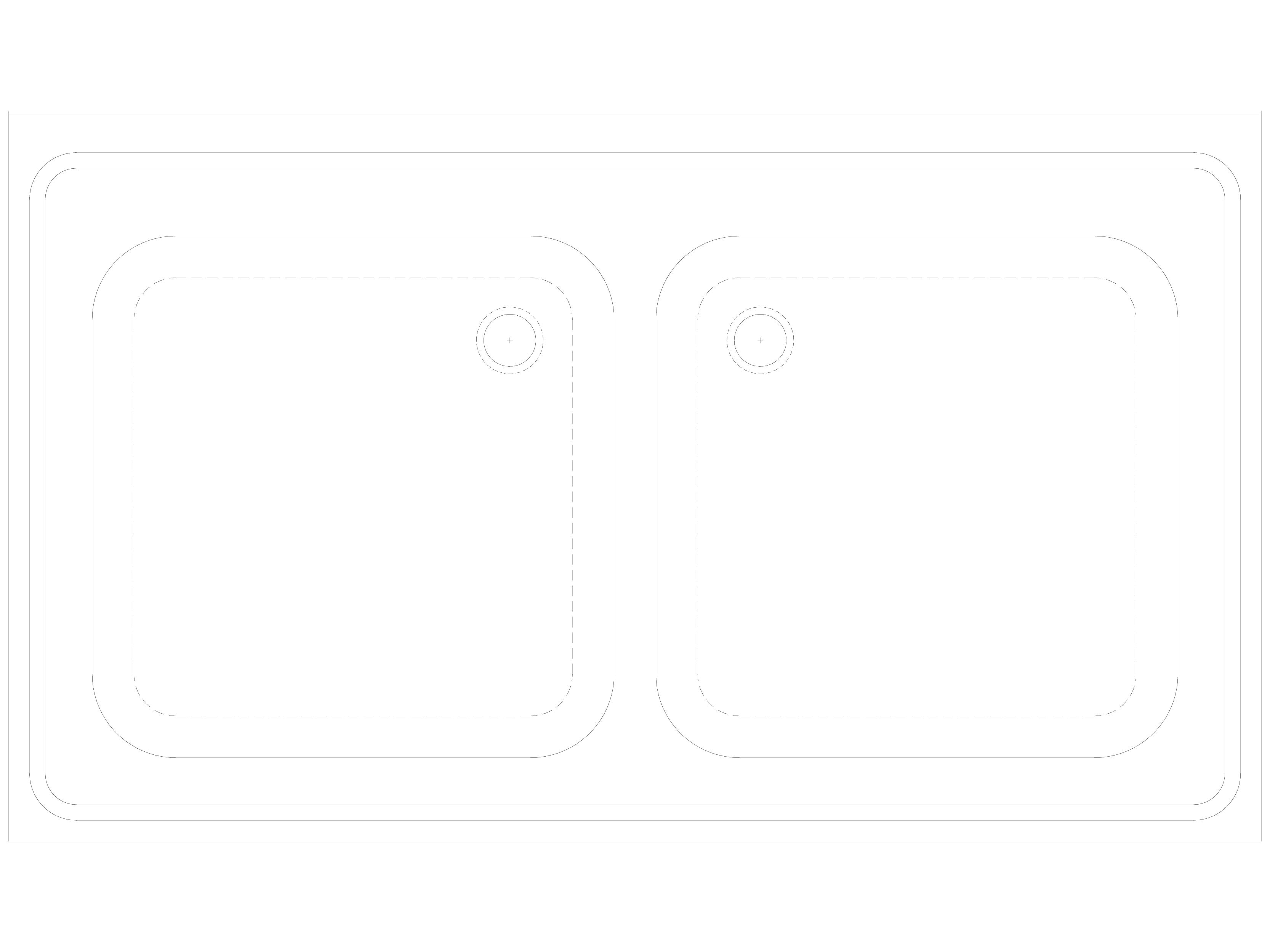 Pagina 1 - CAD-DWG Spalator dublu din inox stativ cu masca SANELA Detaliu de produs SLUN 16