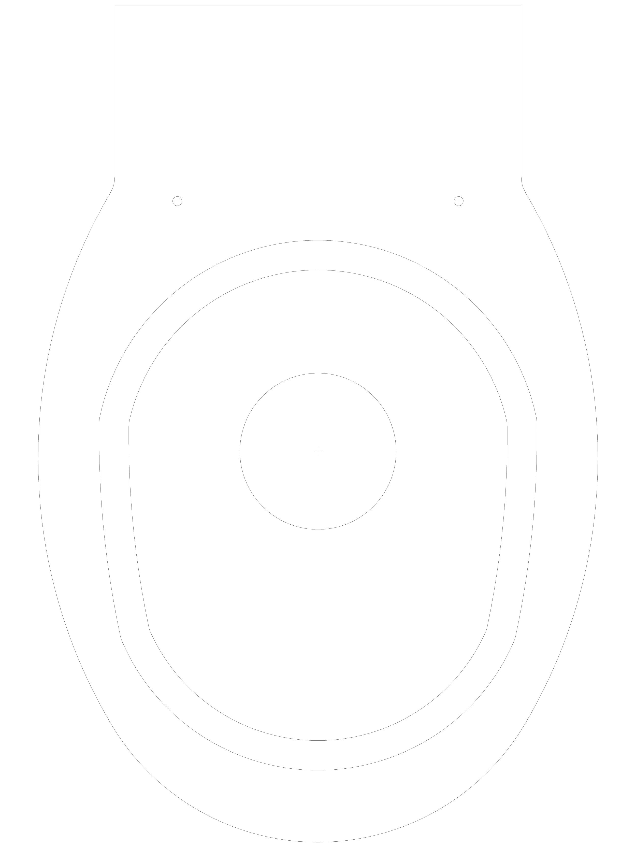 Pagina 1 - CAD-DWG Toaleta suspendata din inox cu fixare de perete SANELA Detaliu de produs SLWN 04