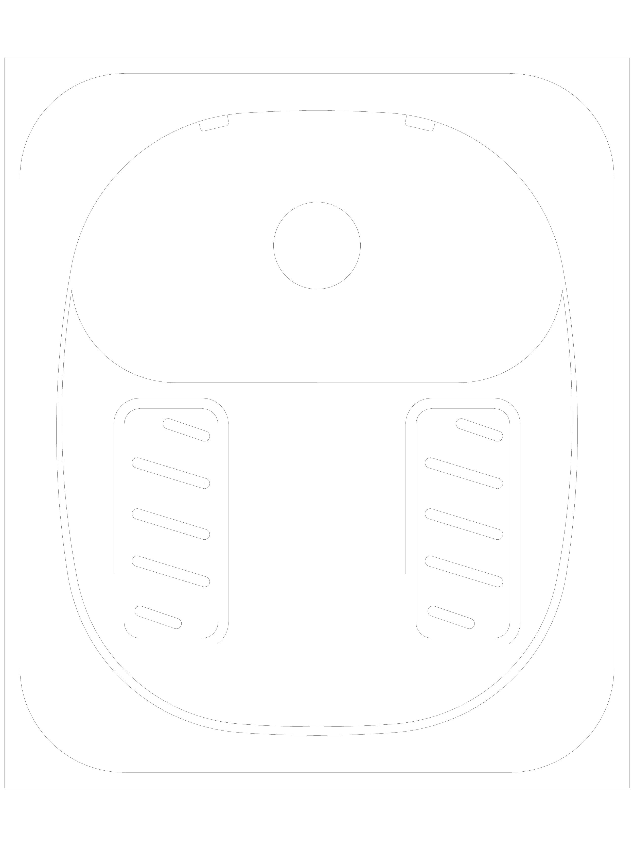 Pagina 1 - CAD-DWG Toaleta turcesca din inox cu doua valve de spalare SANELA Detaliu de produs SLWN ...