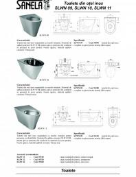 Toaleta din otel-inox