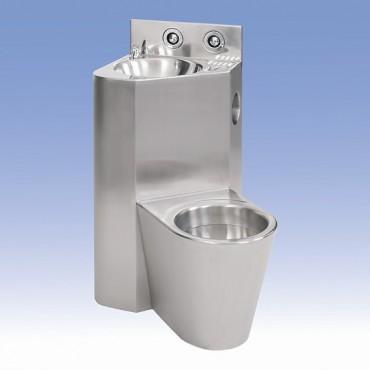 Prezentare produs Toalete din otel-inox SANELA - Poza 13