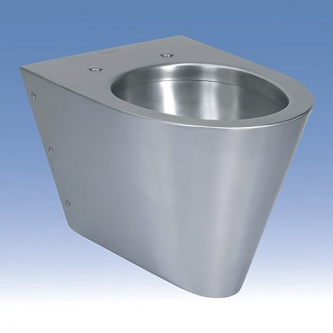 Prezentare produs Toalete din otel-inox SANELA - Poza 12
