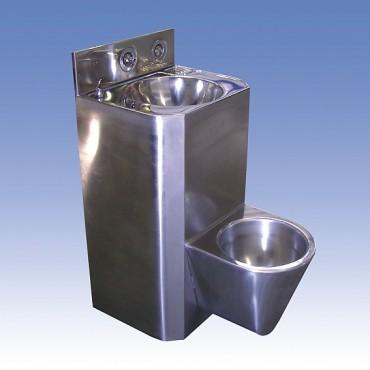 Prezentare produs Toalete din otel-inox SANELA - Poza 10