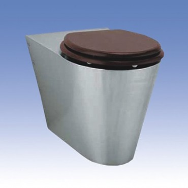 Prezentare produs Toalete din otel-inox SANELA - Poza 3