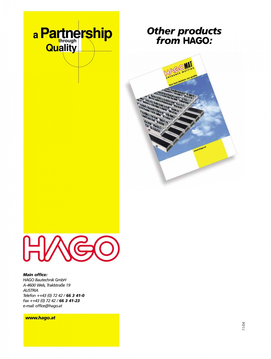 Pagina 32 - Capace pentru camine de vizitare HAGODECK B STEEL, BV-GD AUTOMATIC STEEL, BV-GDZ...