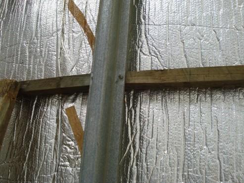 Aplicatii folii termoizolante la fatade ISOLAIR THERMO - Poza 6