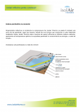 Instalarea foliei termoizolanta pentru pardoseli ISOLAIR THERMO
