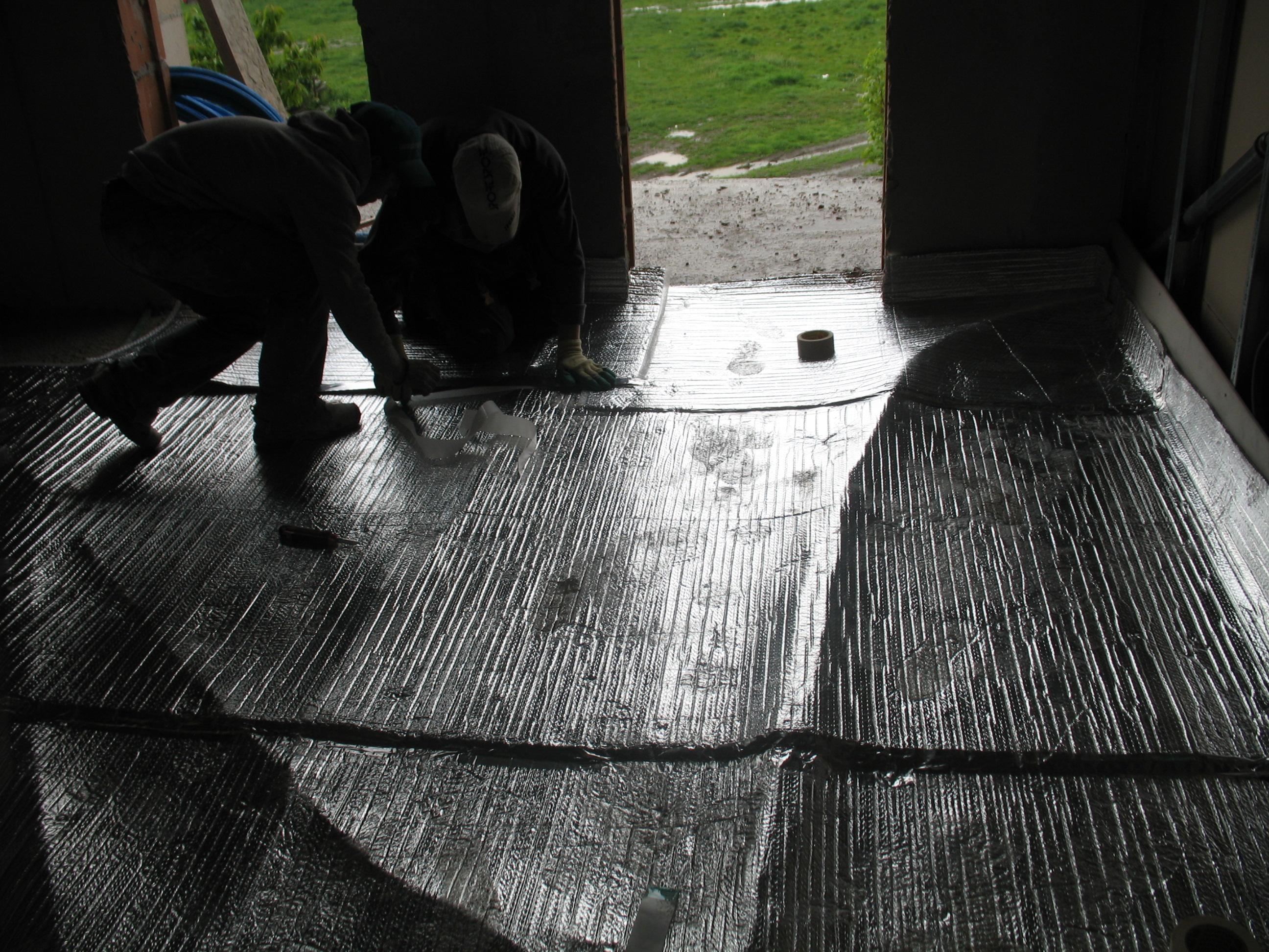 Folii termoizolante pentru pardoseli ISOLAIR THERMO - Poza 15