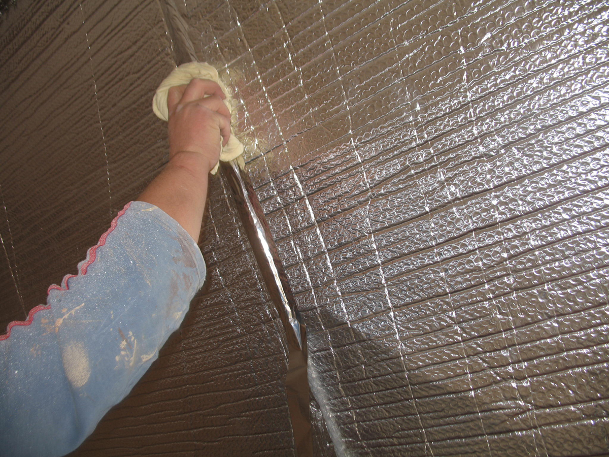 Folii termoizolante pentru pereti ISOLAIR THERMO - Poza 1