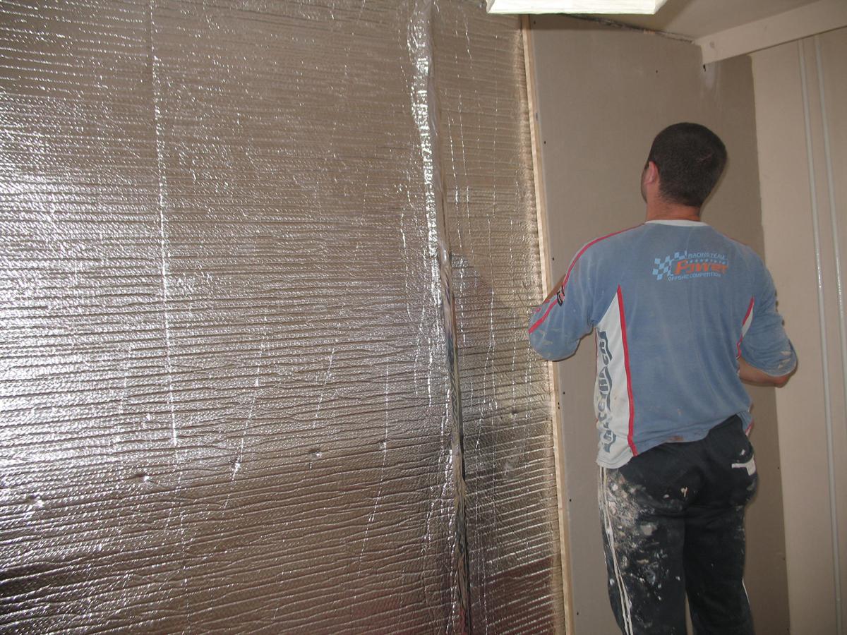 Folii termoizolante pentru pereti ISOLAIR THERMO - Poza 13