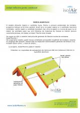 Instalarea foliei termoizolante pentru terase ISOLAIR THERMO