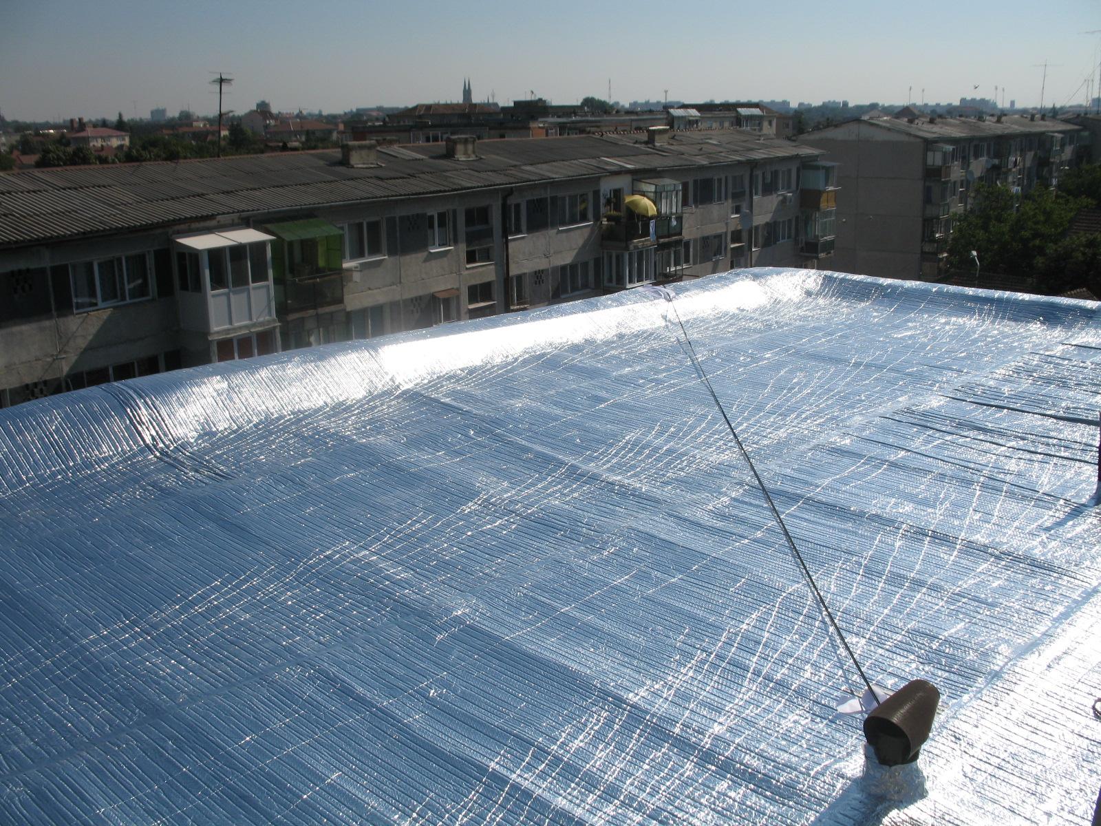Folii termoizolante pentru terase ISOLAIR THERMO - Poza 1