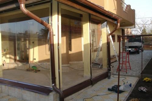 Prezentare produs Rulouri din PVC transparente de exterior EURO DAN - Poza 1
