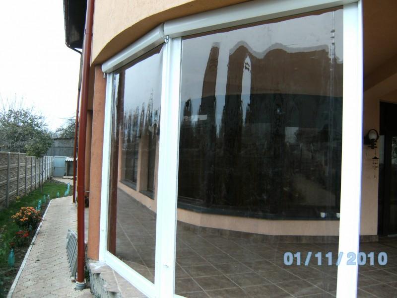 Rulouri din PVC transparente de exterior EURO DAN - Poza 2
