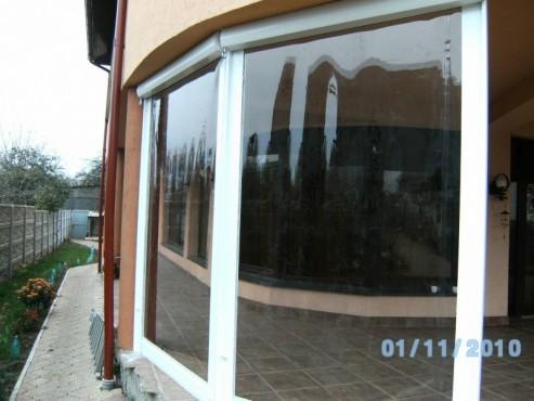 Prezentare produs Rulouri din PVC transparente de exterior EURO DAN - Poza 2