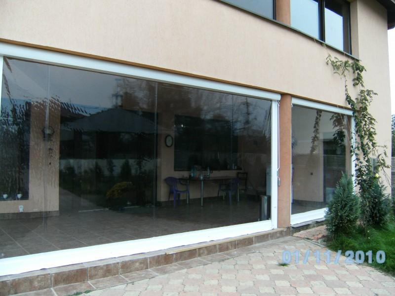 Rulouri din PVC transparente de exterior EURO DAN - Poza 3