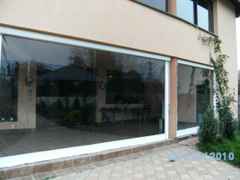 Prezentare produs Rulouri din PVC transparente de exterior EURO DAN - Poza 3
