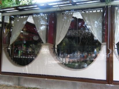 GELC3 Rulouri din PVC transparente de exterior