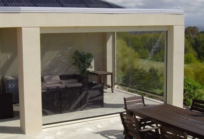 GELC4 Rulouri din PVC transparente de exterior