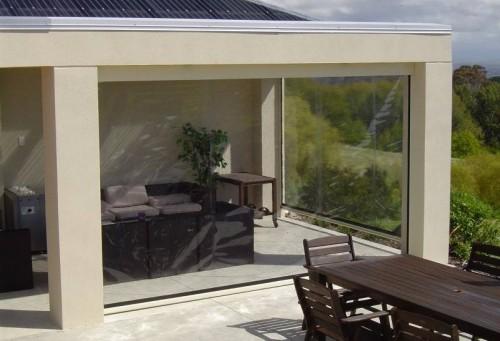 Prezentare produs Rulouri din PVC transparente de exterior EURO DAN - Poza 5