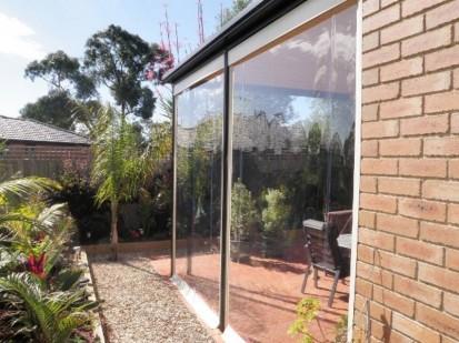 GELC6 Rulouri din PVC transparente de exterior