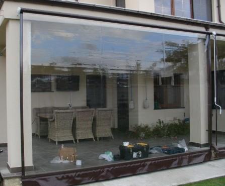 Prezentare produs Rulouri din PVC transparente de exterior EURO DAN - Poza 8