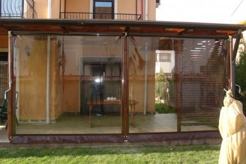 Prezentare produs Rulouri din PVC transparente de exterior EURO DAN - Poza 9