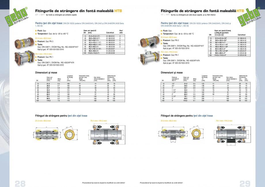 Pagina 15 - Fitinguri GEBO Fisa tehnica Romana   50 2