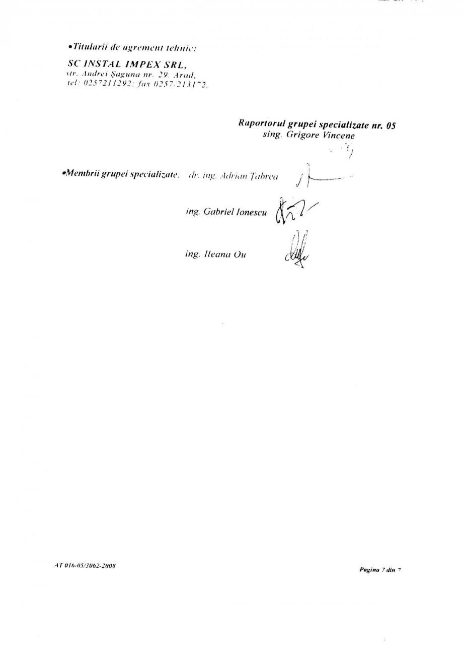 Pagina 9 - Racorduri flexibile pentru instalatii de apa HEKO Certificare produs Romana