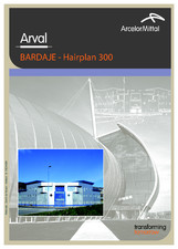 Casete arhitecturale - Hairplan 300 ARVAL