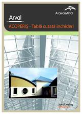 Tabla nervurata pentru acoperis ARVAL