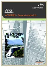 Panouri sandwich pentru acoperis ARVAL
