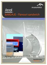 Panouri sandwich pentru fatade ARVAL