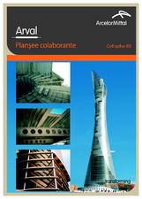 Sistem de plansee colaborante - COFRAPLUS 60 ARVAL