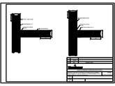Zidarie confinata realizata cu blocuri ceramice - Detaliu ramificatie POROTHERM