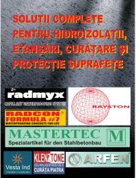 Solutii complete pentru hidroizolatii, stansari, curatare si protectie suprafete