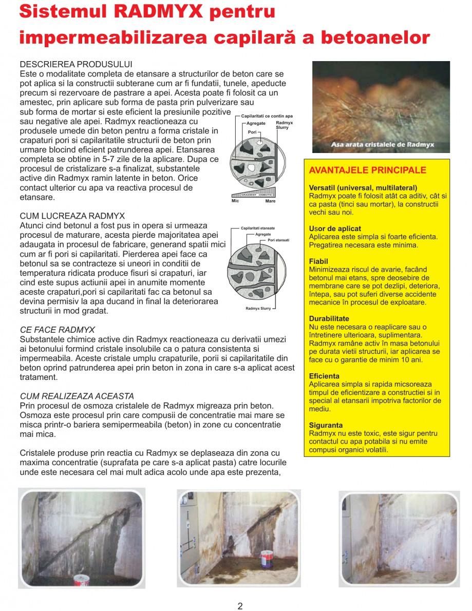 Pagina 4 - Solutii complete pentru hidroizolatii, stansari, curatare si protectie suprafete UNICO...