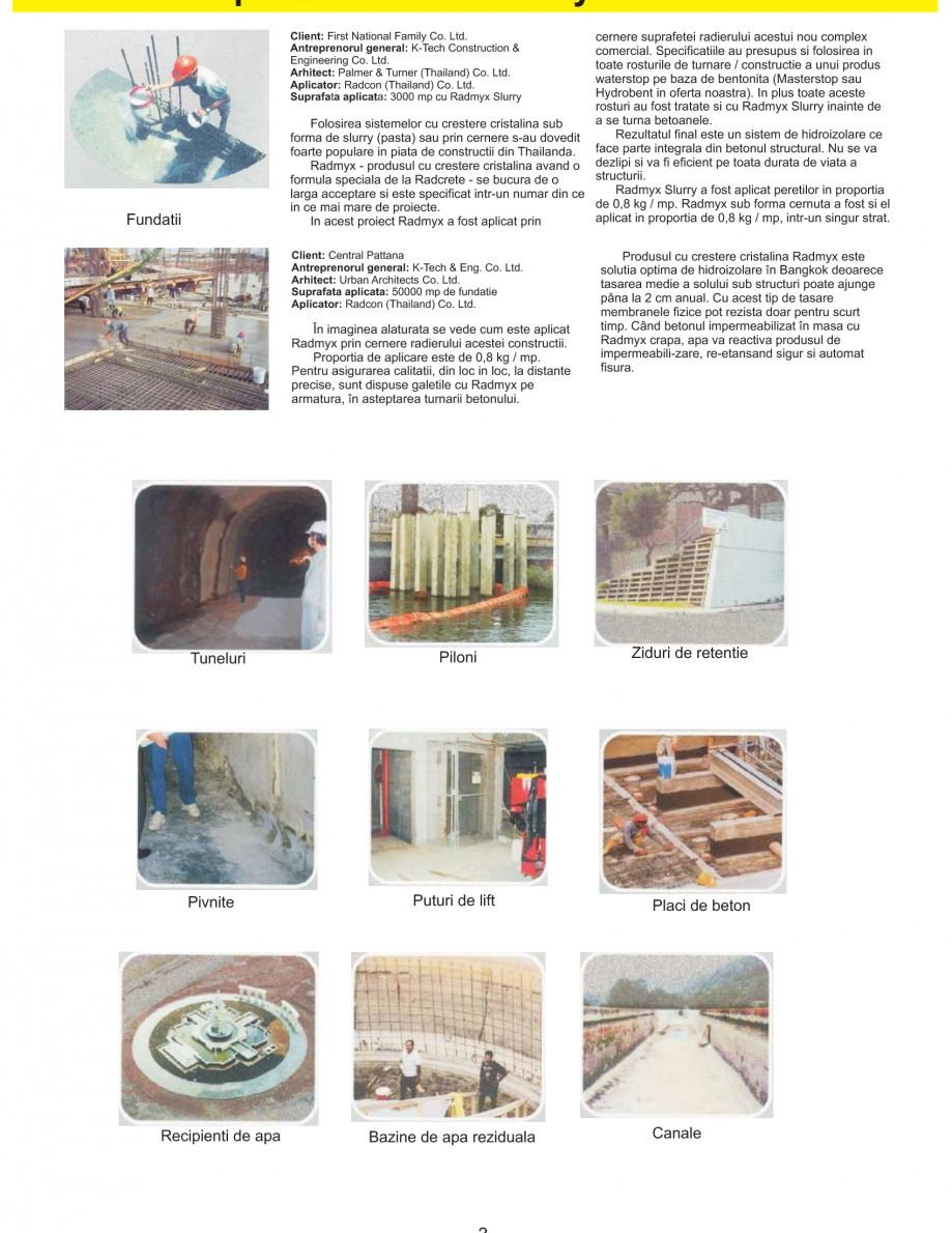 Pagina 5 - Solutii complete pentru hidroizolatii, stansari, curatare si protectie suprafete UNICO...