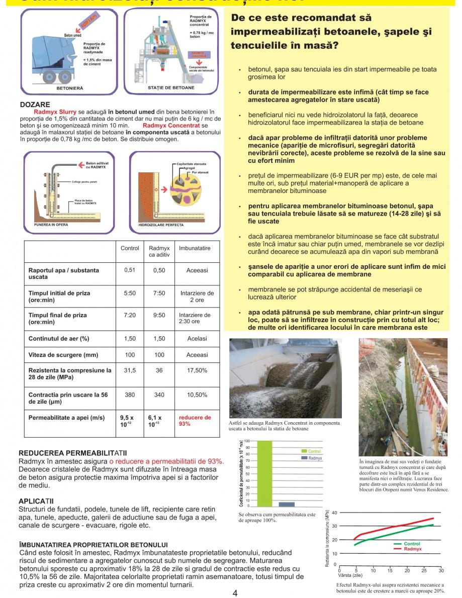 Pagina 6 - Solutii complete pentru hidroizolatii, stansari, curatare si protectie suprafete UNICO...