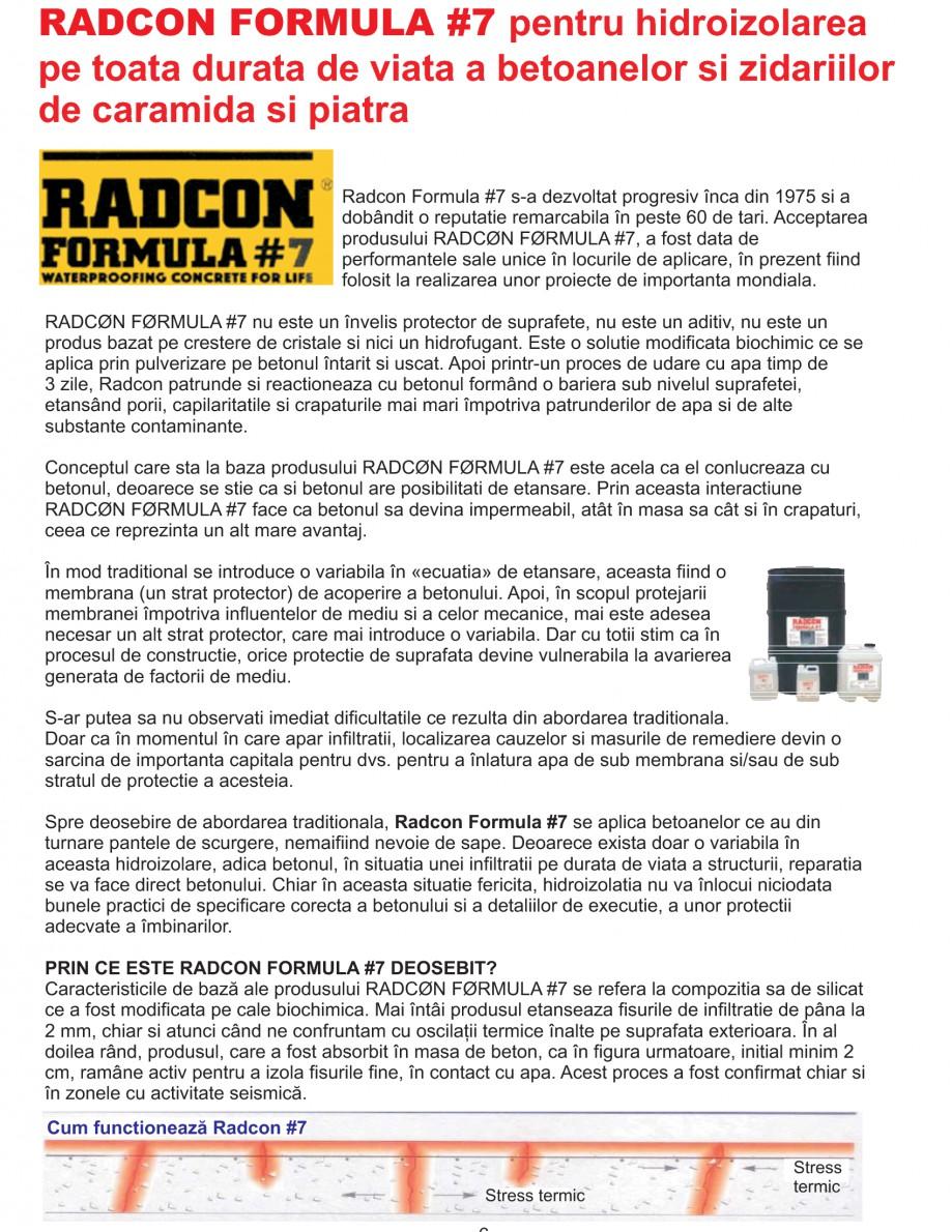 Pagina 8 - Solutii complete pentru hidroizolatii, stansari, curatare si protectie suprafete UNICO...