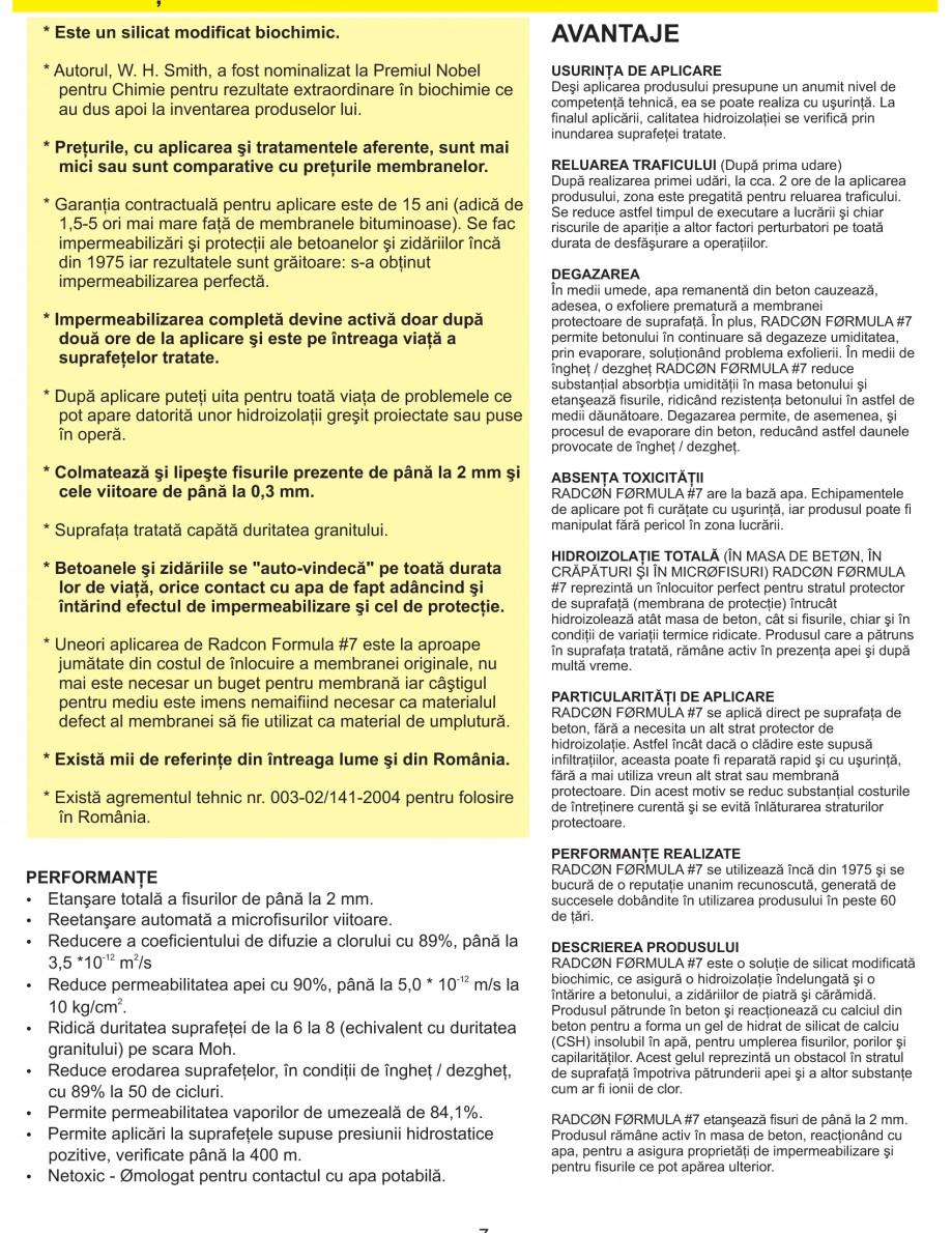 Pagina 9 - Solutii complete pentru hidroizolatii, stansari, curatare si protectie suprafete UNICO...