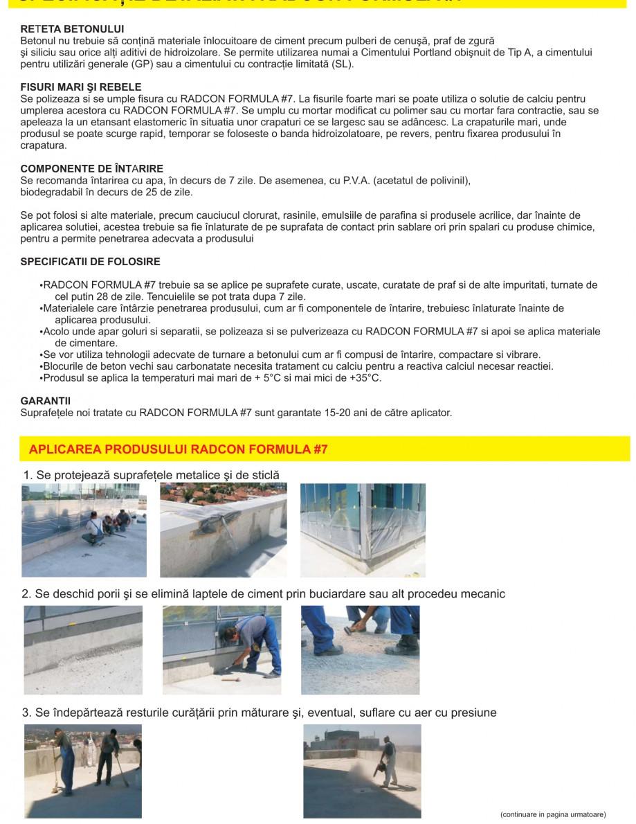 Pagina 10 - Solutii complete pentru hidroizolatii, stansari, curatare si protectie suprafete UNICO ...