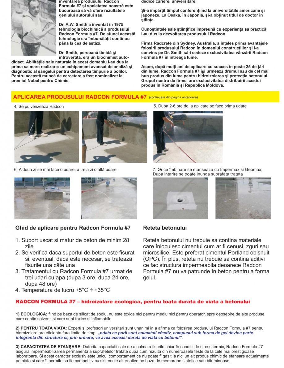 Pagina 11 - Solutii complete pentru hidroizolatii, stansari, curatare si protectie suprafete UNICO ...