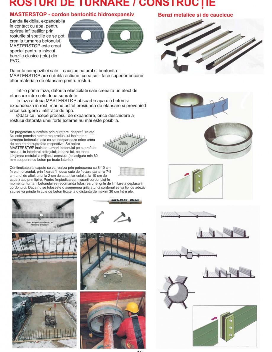Pagina 12 - Solutii complete pentru hidroizolatii, stansari, curatare si protectie suprafete UNICO ...