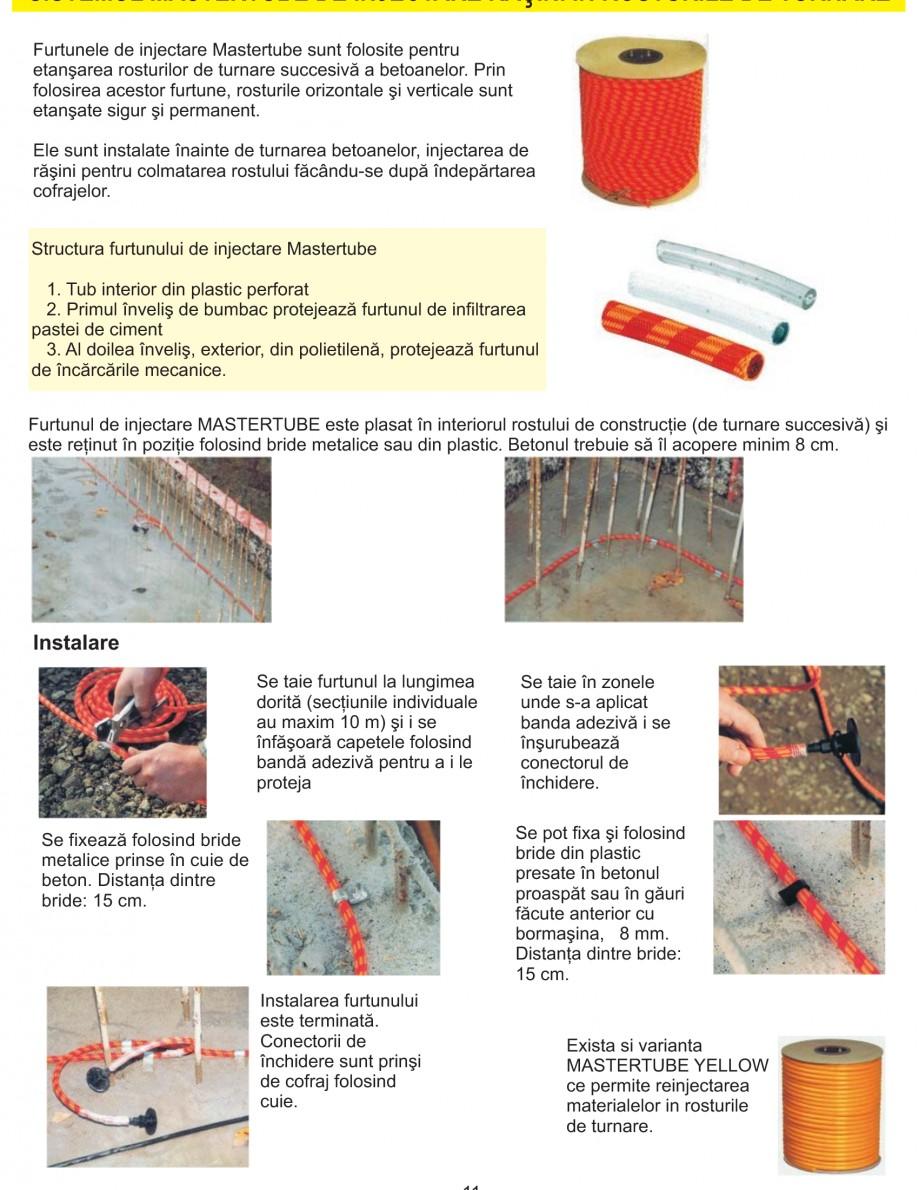 Pagina 13 - Solutii complete pentru hidroizolatii, stansari, curatare si protectie suprafete UNICO ...